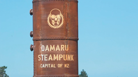 Oamaru House Bed and Breakfast-steampunk
